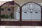Abbey Wrought iron fencing 2